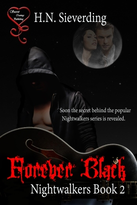 forever Black (nightwalkers 2) cover